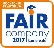 """Blackeight darf sich auch 2017 als """"Fair Company"""" bezeichnen."""