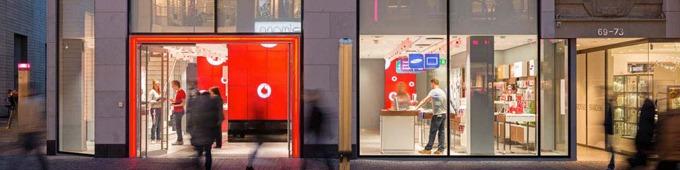 Erster Vodafone Flagshipstore