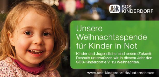 Blackeight unterstützt das SOS Kinderdorf