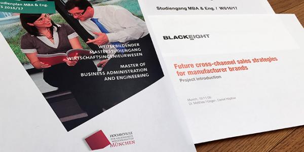 Für ein Projekt kooperierte Blackeight mit der Hochschule München.