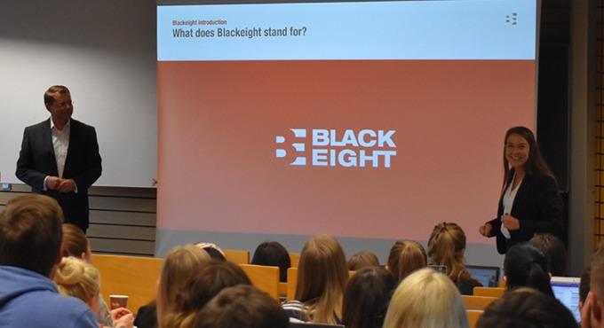 Blackeight hielt einen Praxisvortrag an der WFI Ingolstadt.