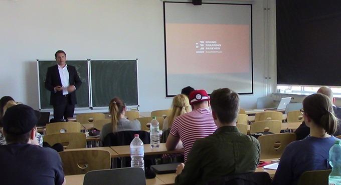 Blackeight zu Gast an der Hochschule Merseburg.