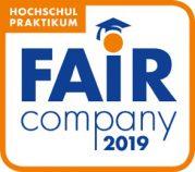 """Blackeight darf sich auch 2019 als """"Fair Company"""" bezeichnen."""