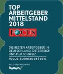 Blackeight Top Arbeitgeber Mittelstand Focus