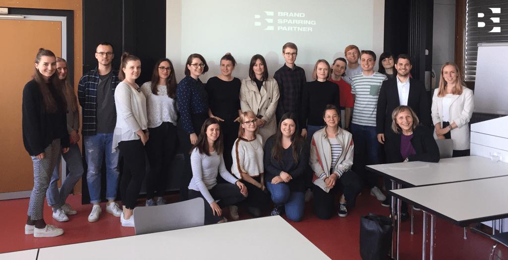 Blackeight zu Besuch an der HS Pforzheim (MCM)
