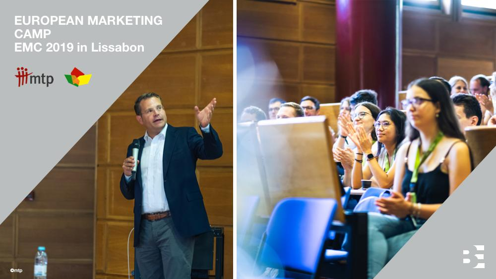 BLACKEIGHT zu Gast beim European Marketing Camp (EMC) in Lissabon